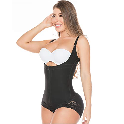 33c49378cf 1 · Salome 0413 Womens Zipper Butt Lifter Tummy Control Body Shapers Firm C  Section Bodysuit Fajas Colombianas