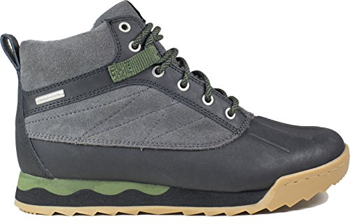Forsake Duck - Women's Waterproof Leather Performance Sneakerboot (6.5 D(M), Black/Cypress) by Forsake (Image #6)