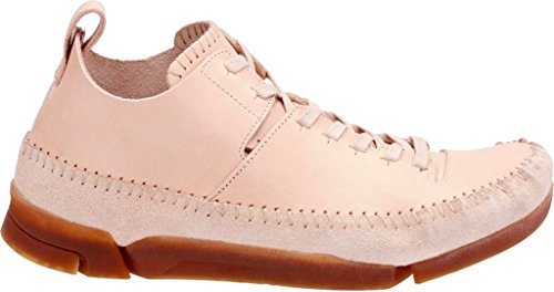 Sneakers Da Uomo Clarks In Pelle Scamosciata Flex Naturale