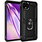 Gorilla Gadgets Military Grade Case Compatible with Google Pixel 4 XL Case 360 Metal Rotating Ring Kickstand Holder Built-in