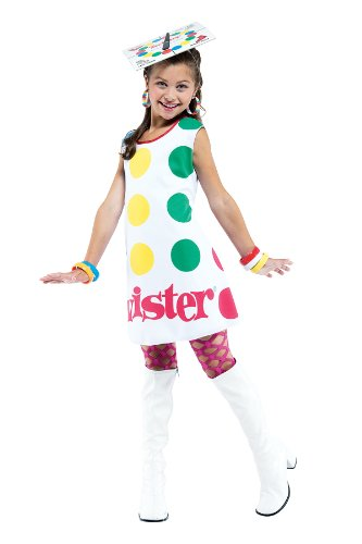 SALES4YA Kids-Costume Twister Dress Child S 4-6 Halloween Costume - Child 4-6 for $<!--$15.99-->