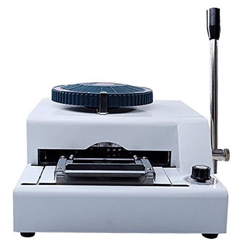 VIP Card Embossing Machine - SODIAL(R) 72 Character PVC Manual VIP Credit Card Embossing Machine - Card Credit Vip