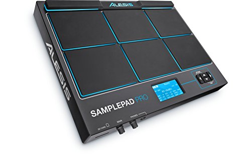Alesis SamplePad Pro | 8-Pad Percussion and Sample-Triggering Instrument with SD Card Slot & 5-Pin MIDI In/Out by Alesis