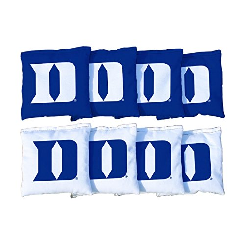 Victory Tailgate 8 Duke Blue Devils Regulation Cornhole Bags (Corn Filled)