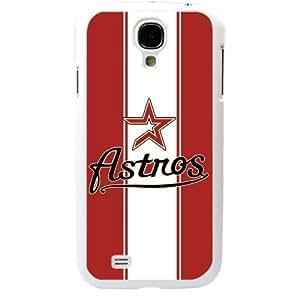MLB Major League Baseball Houston Astros Samsung Galaxy S4 SIV I9500 TPU Soft Black or White case (White)
