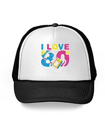 5501628212f285 Awkward Styles 80s Accessories for 80s Party 80s Costume 80s Trucker Hat 80s  Hat I Love