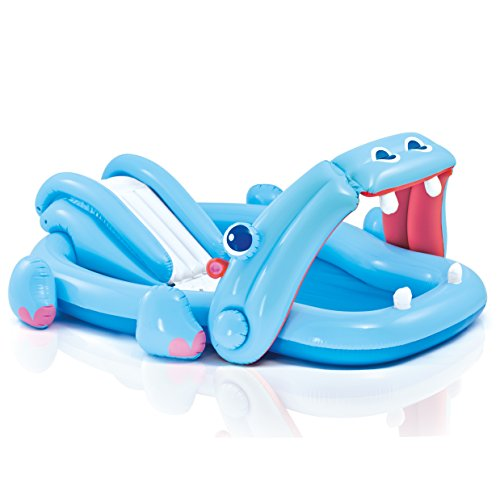 - Intex Hippo Play Center with Built-in Slide, 87