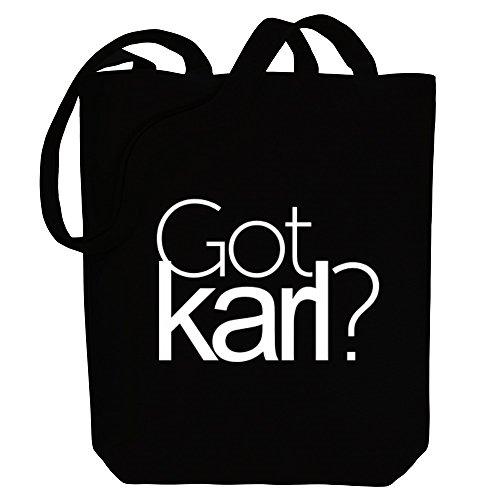 Idakoos Got Karl? - Männliche Namen - Bereich für Taschen