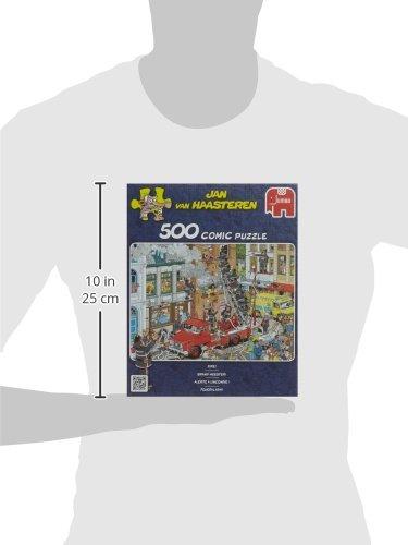 Jumbo Jan Van Haasteren Fire Jigsaw Puzzle 500 Piece