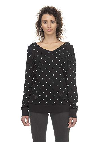 Ragwear Zipper Damen Camila 2011-30010 Schwarz Black 1010