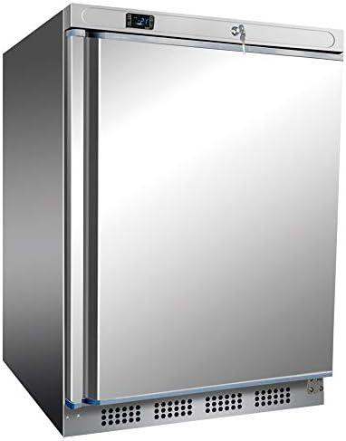 Congelador de acero inoxidable de 200 litros, para frigorífico ...