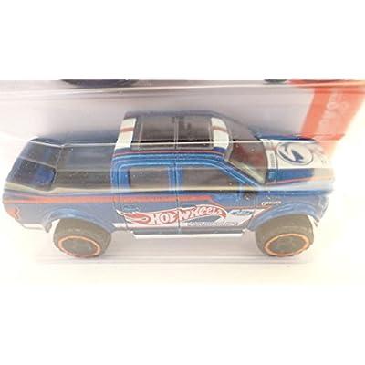 Hot Wheels 2016 HW Hot Trucks '15 Ford F-150 141/250, Blue: Toys & Games