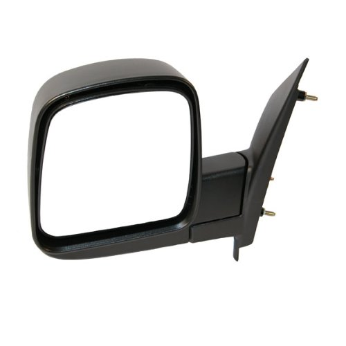 2003-2007 Chevrolet/Chevy Express & GMC Savana 1500, 2500, 3500 Van Manual Black Textured Folding Rear View Mirror Left Driver Side (2003 03 2004 04 2005 05 2006 06 2007 (Chevy Chevrolet Express 2500 Mirror)