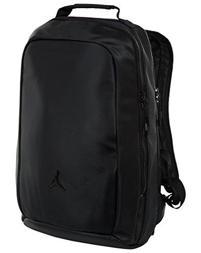 Jordan JORDAN BACKPACK unisex-adult backpacks BA8062-010_MISC - BLACK/BLACK by Jordan