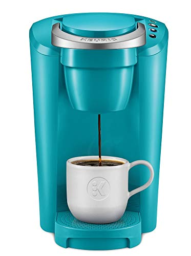 K-Compact Single-Serve K-Cup Pod Coffee Maker, Turquoise