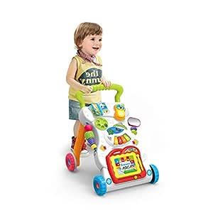JINYJIA Primeros Pasos Bebé Actividad Andadores, Patrón Múltiple ...