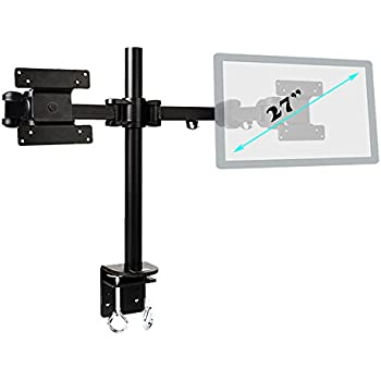 Amazon Com Dual Monitor Stand Adjustable Lcd Monitor