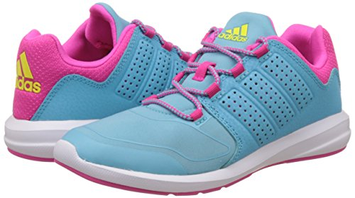 ADIDAS Kinder- Turnschuh s-Flex blue glow s16/shock pink s16/ftwr white