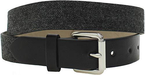 [해외]Goodfellow & Co. Men`s Fabric Strap Belt with Faux Leather Tabs / Goodfellow & Co. Men`s Fabric Strap Belt with Faux Leather Tabs Large GreyBlack