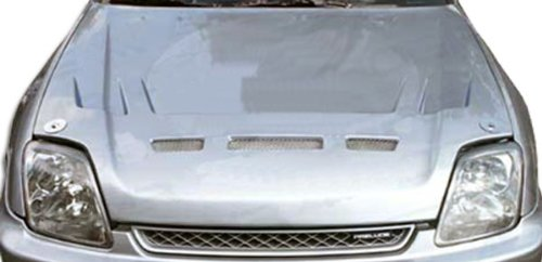 1997-2001 Honda Prelude Duraflex Predator Hood - 1 Piece - Predator Fiberglass Hood