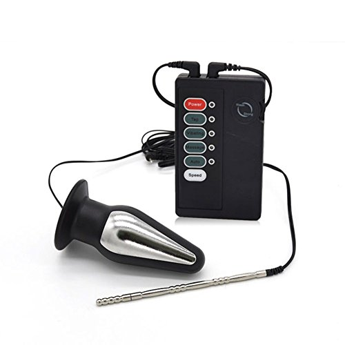 TCFAFA E Stim Black Devices Electro s-e-x Electric Accessories Part by TCFAFA