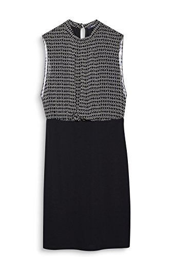 Black 002 ESPRIT Damen Schwarz Collection 2 Kleid II1YaA