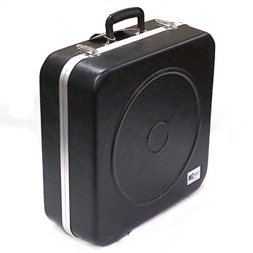(Performance Plus MSC-1 Square Snare Drum Case, Black)