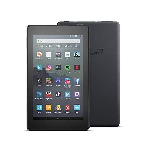 Fire 7 Tablet   7″ display, 32 GB, Black with Special Offers