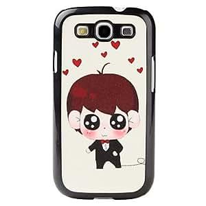 Cartoon Style Boy Pattern Hard Case for Samsung Galaxy S3 I9300