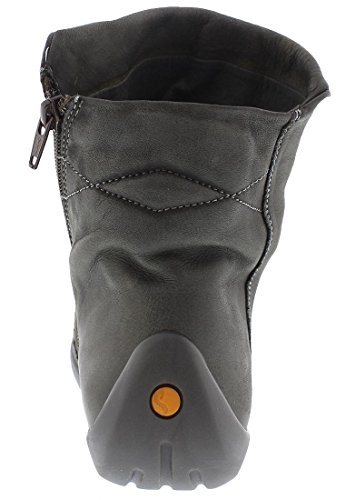 Gris militar Nat332sof 009 Softinos Femme Bottines Smooth wqPvxFv6g