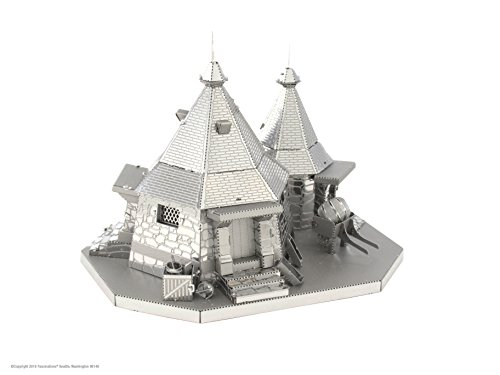 Harry Potter Hagrid's Hut <br> 3D Metal Model Kit