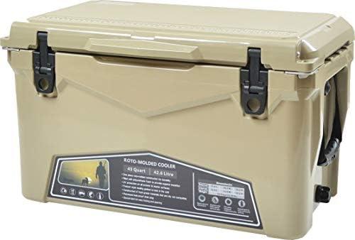 ICE AGE cooler (アイスエイジ) クーラーボックス 45QT 42.6L / ILC045 2~3人向けクーラーBOX 充実のオプション装備