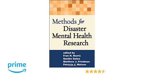 Methods for disaster mental health research 9781593853105 medicine methods for disaster mental health research 9781593853105 medicine health science books amazon fandeluxe Images