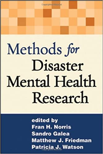 Book Methods for Disaster Mental Health Research