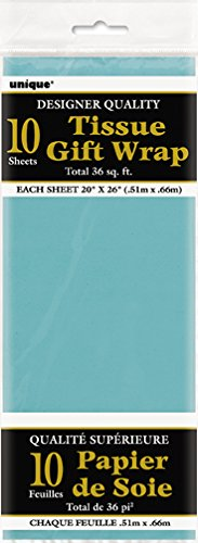 Teal Tissue Paper Sheets 10ct