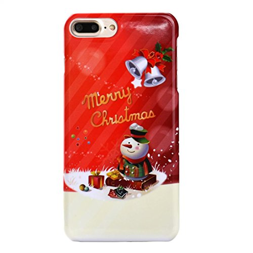 """Price comparison product image Tenworld X'MAS Gifts Merry Christmas Pattern Back Case Cover For for iPhone 7 4.7 Inch/iPhone 7 Plus 5.5 Inch (For iPhone 7 Plus 5.5"""", D)"""