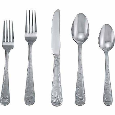 Sand 20 Piece Flatware Set - 9