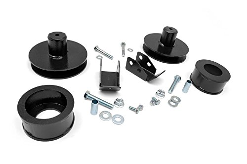 Rough Country - 658 - 2-inch Suspension Lift Kit for Jeep: 97-06 Wrangler TJ 4WD, 04-06 Wrangler Unlimited LJ 4WD