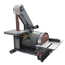 "Generic LQ..8..LQ..1529..LQ HP Poli 1/3HP Polish elt 5"" Belt 5"" Disc Sander nde Grinder Sanding nding M 1"" X 30"" rk Station Machine Work Station US6-LQ-16Apr15-174"