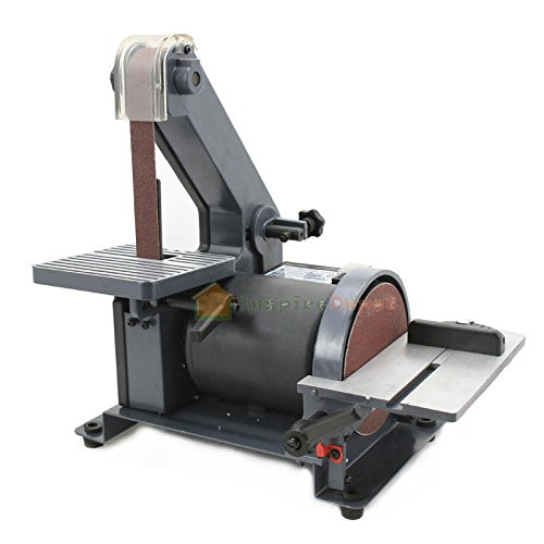 Generic NV_1008001529_YC-US2 ation Di 1/3HP Polish er 1/ 1'' X 30'' olish Grinder Sanding der S Belt 5'' Disc Sander g Mac Machine Work Station 1'' X 30