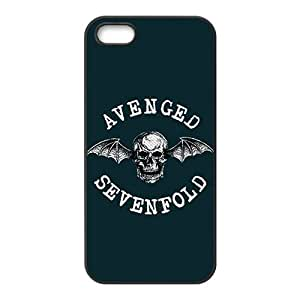 Avenged Sevenfold Fashion Comstom Plastic case cover For Iphone 5s