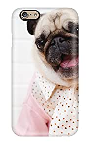 Tpu Case Cover Compatible For Iphone 6/ Hot Case/ Pug Dog
