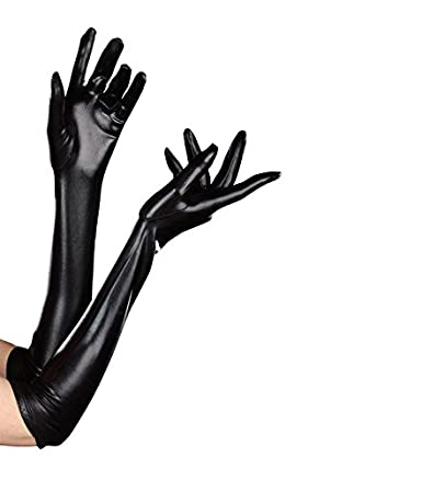 Dreamgirl Women's Dominique Glove Black One Size Dreamgirl International 7819