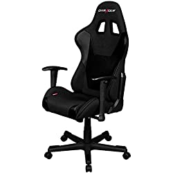 DX Racer Dxracer FD101/N Black Racing Bucket Seat Office Chair Gaming Ergonomic with Lumbar Support