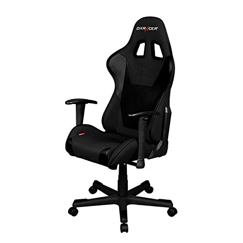 DX Racer Dxracer FD101/N Black Racing Bucket Seat Office Chair Gaming Ergonomic with Lumbar Support by DX Racer