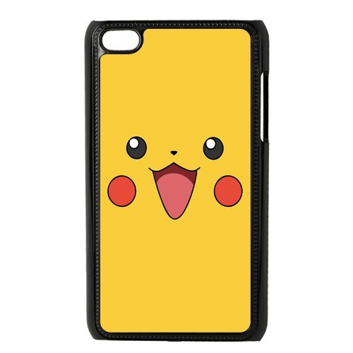 Case.Store-Pikachu Phone Case Customized Hard Snap-On Plastic Case for iPod Touch 4, 4th Generation Cases iPod 4 TY064 (Ipod Case Pikachu Generation 4th)