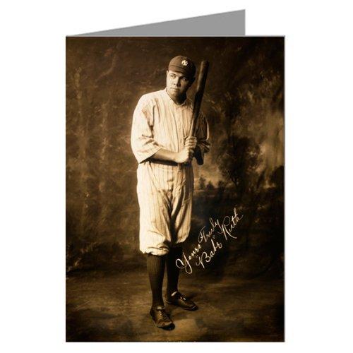 Babe Ruth Circa 1920 Note Card Set