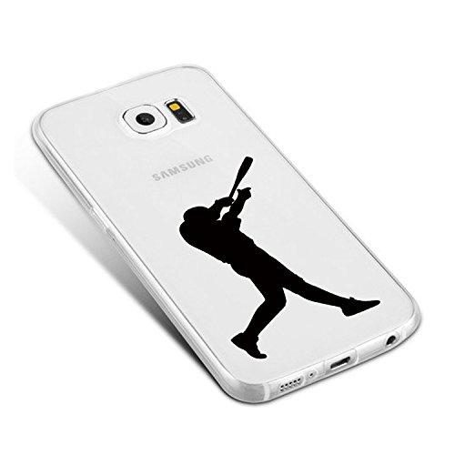 Vanki® Funda Galaxy S6 Edge,Carcasa Cubierta TPU Silicona Goma Suave Case Protection y Premium Clarity Cover Ultra Fino Anti-Arañazos para Samsung Galaxy S6 Edge-Las plantas verdes 6