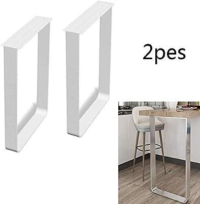BCX Patas de escritorio de acero macizo Patas para muebles ...