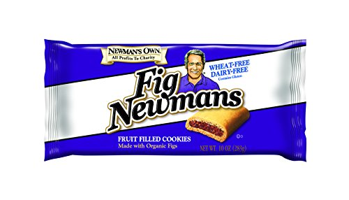 Newman's Own Fig Newmans, Wheat-Free/Dairy-Free, 10-Ounce Packages (Pack of 6)